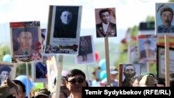 Бишкектеги Жеңиш майрамы. 9-май, 2017-жыл.