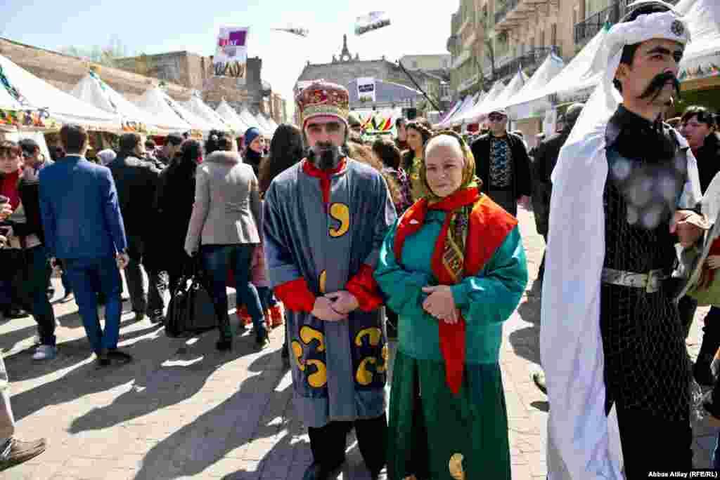 Norouz celebrations in the Azerbaijani capital.