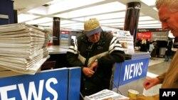 Газетный киоск в Сан-Франциско