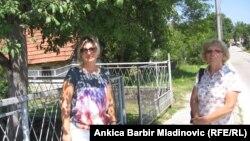 Biljana Rajak sa susjedom