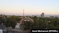 منظر لمدينة السليمانية