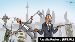 Карикатура Гюндюза Агаева