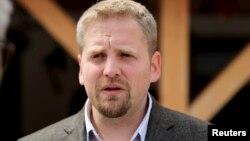 Архива: Самопрогласениот претседател на Либерланд Вит Једличка.