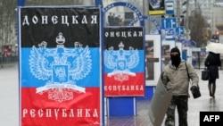 Donetskdə şüarlar