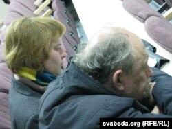 На прэзэнтацыі: Натальля Васілевіч, а. Аляксандар Шрамко
