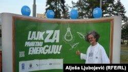 Duško Mazalica kao profesor Atom