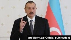İlham Əliyevin Nazirlər Kabinetinin toplantısında. 09okt2017