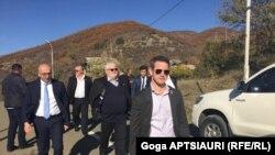 ABŞ konqresmenləri Rusiya işğalının Gürcüstanda yaratdığı sərhəddə, 8 noyabr, 2019-cu il