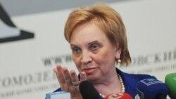 Мәскеу қалалық сотының төрағасы Ольга Егорова. Мәскеу, 29 мамыр 2013 жыл.