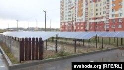 Сонечныя батарэі для аўтамыйкі