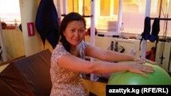 Гүлзана Жаркынбаева Саки шаарында реабилитацияланууда.