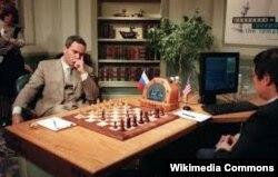 Kasparov və Deep Blue kompüteri arasında matç, 1997