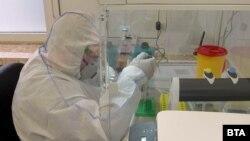 Демонстрация на работата в лаборатория в Плевен