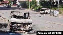 Mitrovica, prizor posle nereda