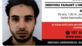 Fransa polisinin Cherif Chekatt üçün axtraış plakatı