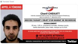 Osumnjičeni za napad u Strazburu