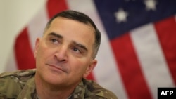 "U.S. General Curtis Scaparrotti: ""I think [the Russians] are pushing the envelope in terms of our resolve."" (file photo)"