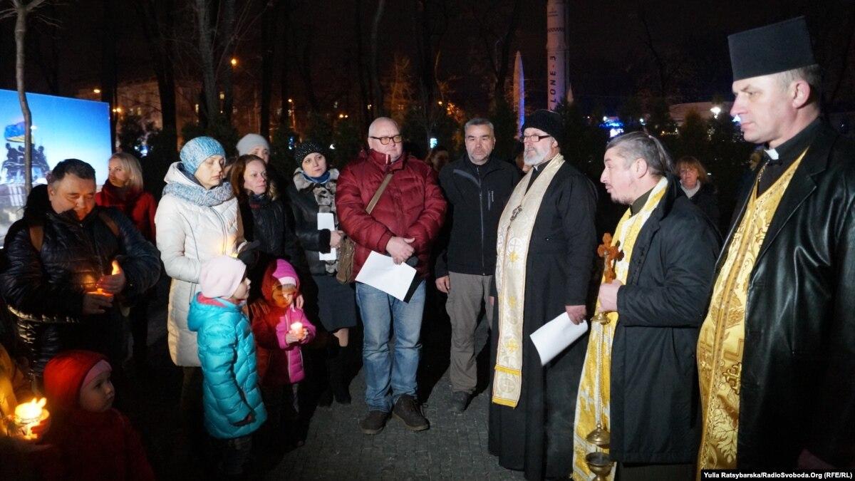 В Днепре поименно вспомнили украинских бойцов, погибших в боях за Дебальцево