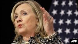 AQSh Davlat kotibi Hillari Klinton.