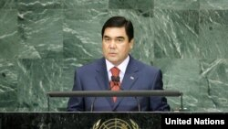 20-nji sentýabrda Türkmenistanyň prezidenti Gurbanguly Berdimuhamedow BMG-niň Baş assambleýasynyň 65-nji sessiýasynda çykyş etdi.