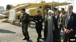 Президент Ирана Хассан Роухани на выставке иранских ракет – Тегеран, 24 августа 2014 года