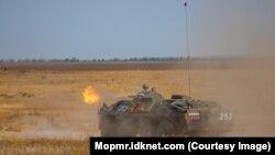 Aplicații militare rusești în stânga Nistrului