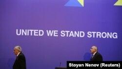 Jean-Claude Juncker i Bojko Borissov u Sofiji