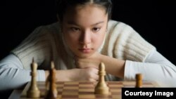 Казахстанская шахматистка Динара Садуакасова.
