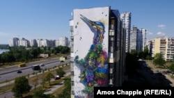 Иллюстративное фото. Мурал в Киеве. Август 2016 года