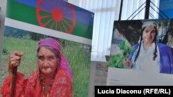 Imagini de la expoziție despre Holocaust și Romi în Transnistria antonesciană