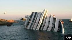 Потонатиот брод Коста Конкордија