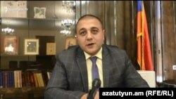Губернатор Ширакской области Карен Саруханян беседует с Радио Азатутюн, Гюмри, 18 июля 2018 г․