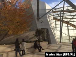 Fundația Louis Vuitton din Paris