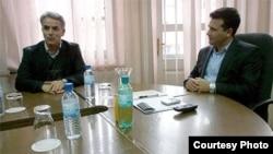 Лидерот на НДП, Руфи Османи и потпретседателот на СДСМ, Зоран Заев.