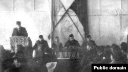 Кырымтатар халкының беренче корылтае, Бакчасарай, 1917 ел