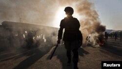 Kabuldaky protestler mahalynda, 24-nji fewral.