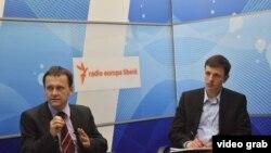 Experții Ion Tornea și Sergiu Țirigan