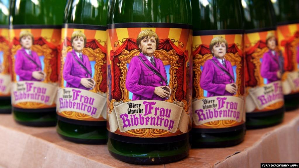 """Пиво """"Фрау Риббентроп"""" производит одна из львовских пивоварен"""