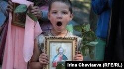 """""""Стояние за жизнь"""" на Гоголевском бульваре, 1 июля 2012 года"""