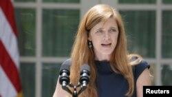 Посол США в ООН Саманта Пауэр, 2013