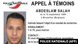 برگه تعقیب قضایی صلاح عبدالسلام که از سوی پلیس ملی فرانسه صادر شده بود.