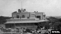 Villa Petrolea. Bakı. Yaşayış evi və park