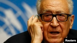 Міжнародний посланець з Сирії Лахдар Брагімі