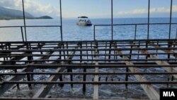 Угостителски дивоградби во Охрид
