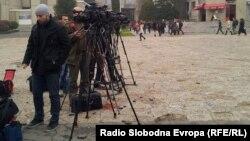 Novinari i snimatelji, Makedonija, 2015.