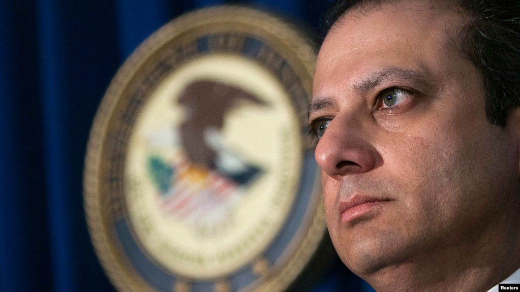 Ousted U S  Prosecutor Bharara A Thorn In Russia's Side For Years