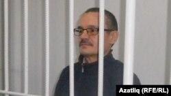 Председатель Татарского общественного центра Рафис Кашапов в суде по его делу. Набережные Челны, 10 сентября 2015 года.