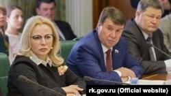 Российский сенатор от Крыма Ольга Ковитиди