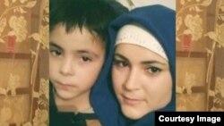 Раяна Магомедова с сыном