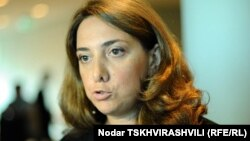 Ambasadoarea Salome Samadașvili în 2011